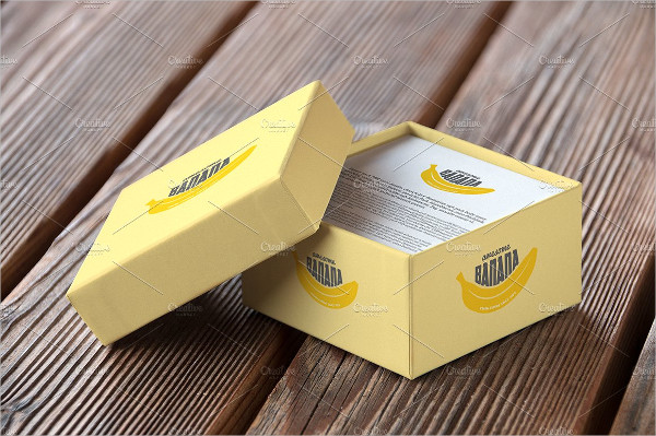 Authentic Box Mockup Design Template