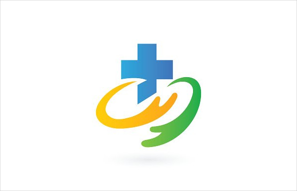Awesome Hospital Store Logo Design Template