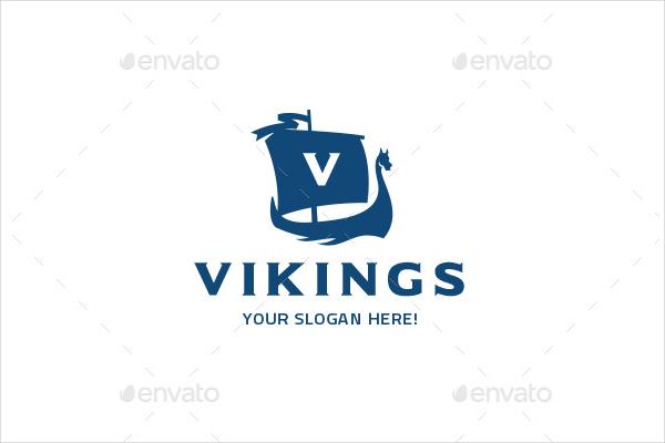 Best Logo Template For Viking Ship