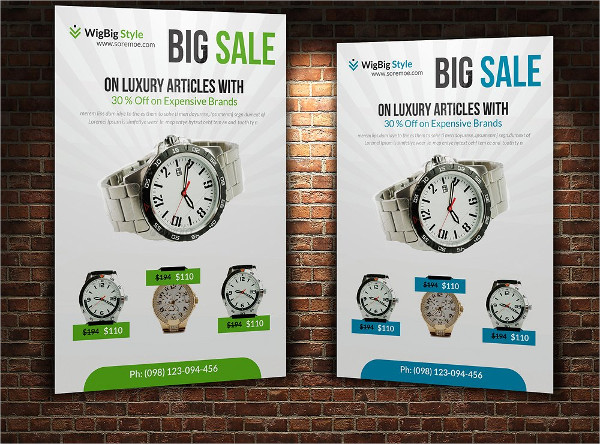 Big Deal Sale Flyers Template