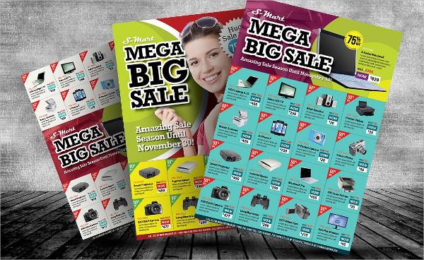 Big Sale Promotion Flyer With 3 Designs Variation