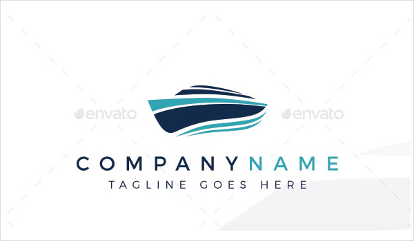 Boating Logo Template