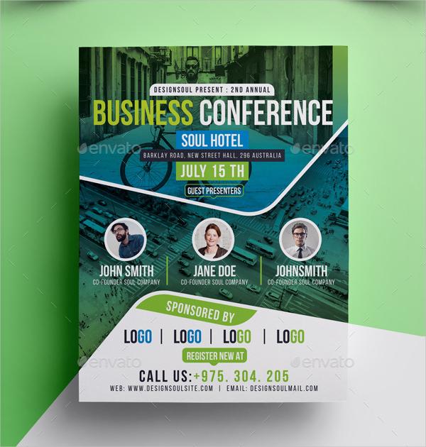 Business Advertisement Flyer Template