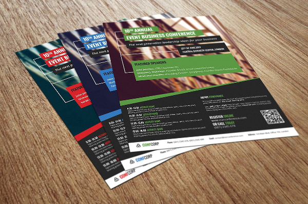 Business Conference Or Event Flyer