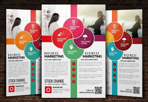 Business Conference Training Flyer Template