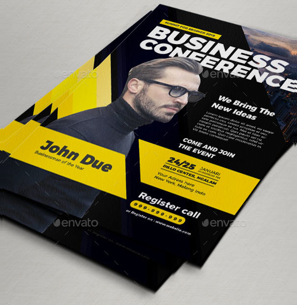 Business Event Conference Flyer
