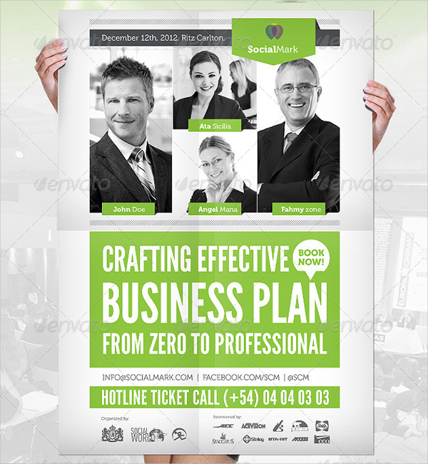 Business Event Flyer And Poster Template