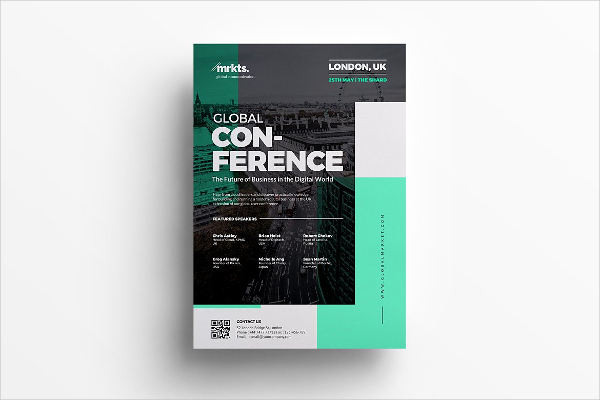 Business Global Conference Flyer Template
