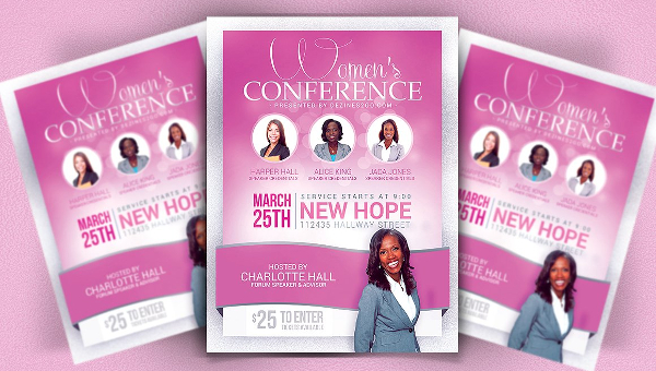 Business Conference Flyer Template  Free  Premium Download