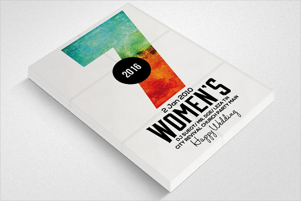 Business Women Conference Flyer Template