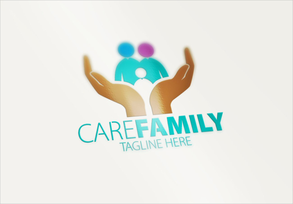 Care Family Identity Logo Template