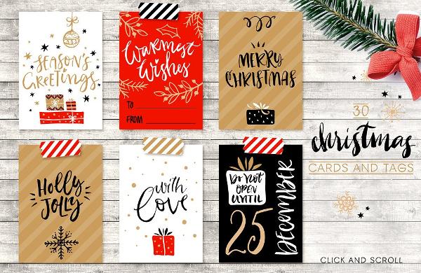 Christmas Overlays And Tags