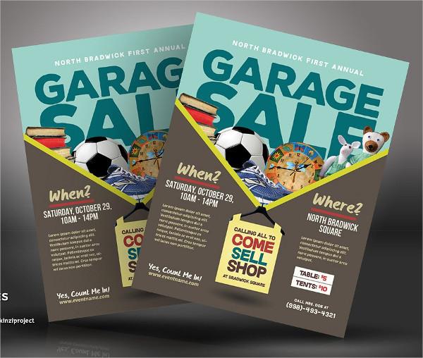Big Garrage Sale Flyer Templates