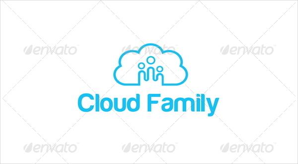 Cloud Family Logos Template