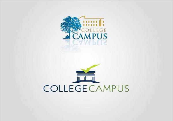 College Campus Logo Templates