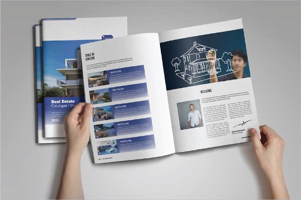 Corporate Real Estate Catalog Templates