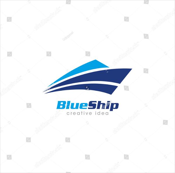 Creative Ship Concet Logo Template