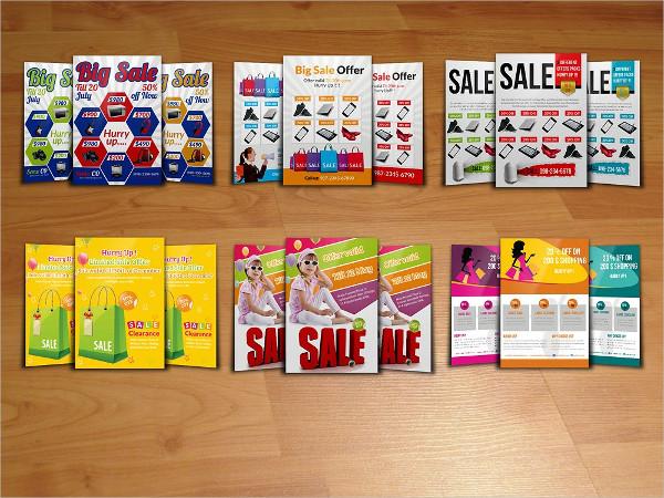 Big Supermarket Sale Flyer Bundles Template
