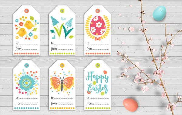 23 gift tag free psdaieps vector format download easter gift tags with sticker template negle Image collections