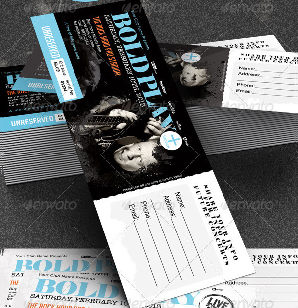 21 ticket designs free premium psd ai vector eps png downolads