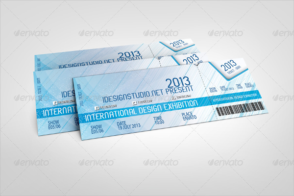 Event Tickets Mockup Template
