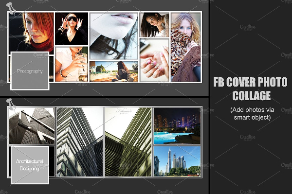 Facebook Photo Collage Template