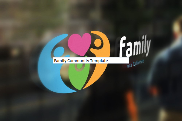 Family Community Logo Template