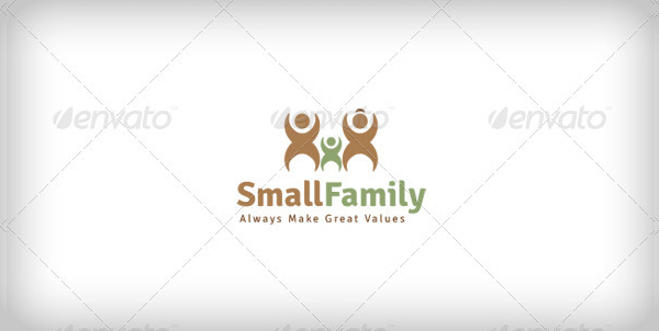 Family Designed Logo Template