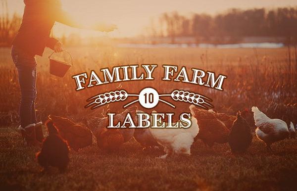 Family Farm Logos Template