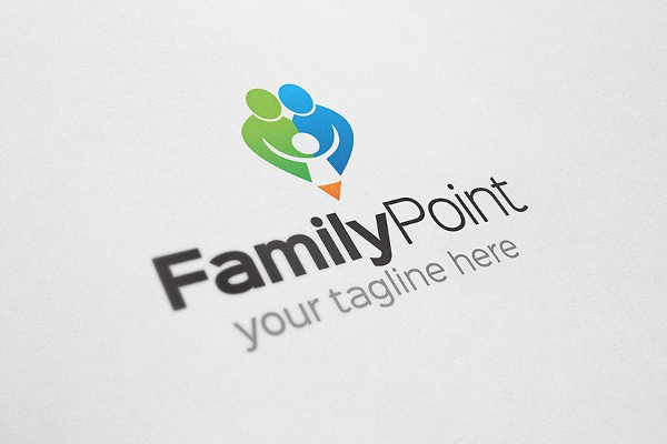 Family Point Logo Template