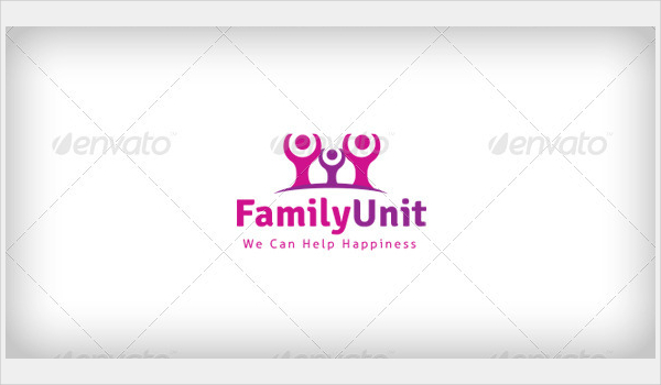 Family Unit Logo Template