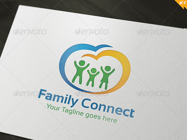 Family Vintage Logo Template