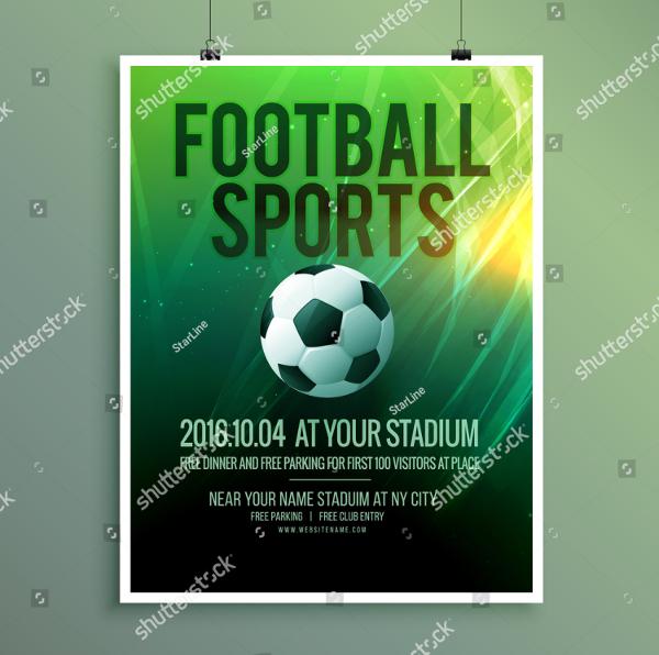 Football Design Poster Template