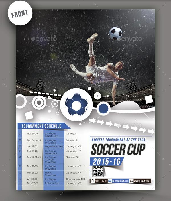 Football Spirit Poster Template
