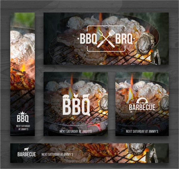 Free Download BBQ Invitations Template