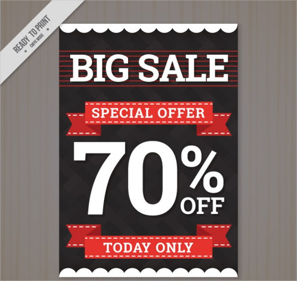 Free Download Big Special Offer Flyer Template
