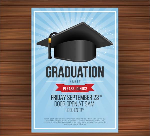 23 graduation announcement card templates free premium formats