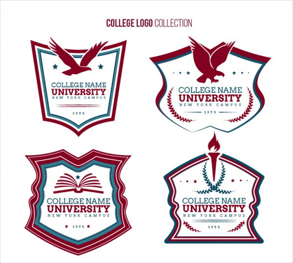 Free Download College Collection Logo Template