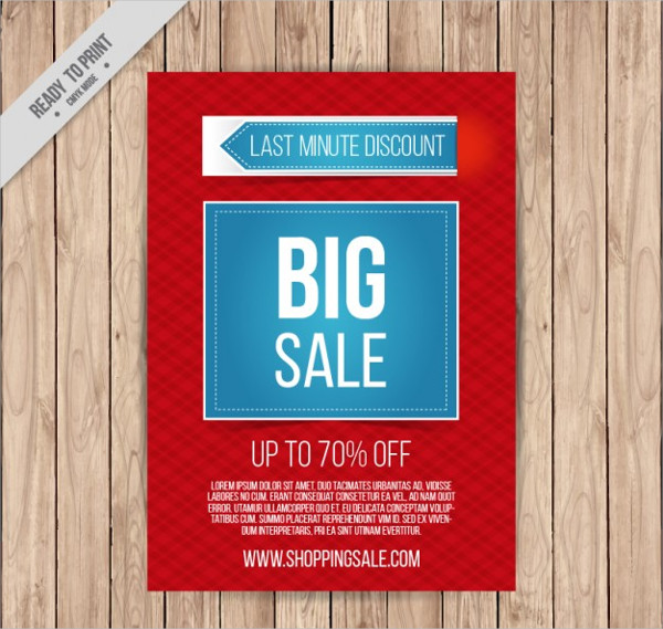 Free Download Big sale Discount Flyer Template