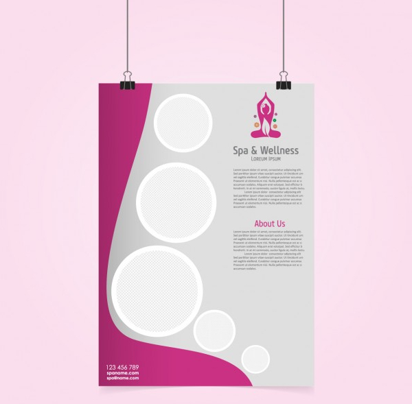 Free Salon Poster Template