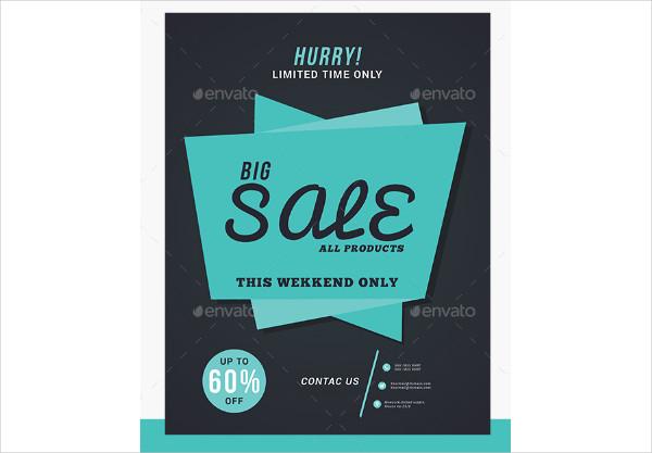 Fully Editable Big Sale Flyer Templates