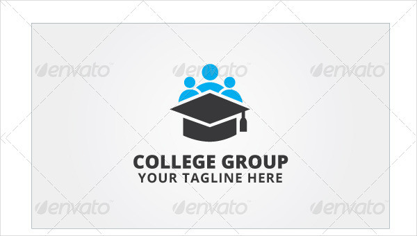 Fully Editable College Group Logo Template