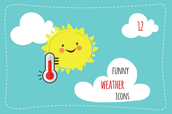Funny Weather Icons
