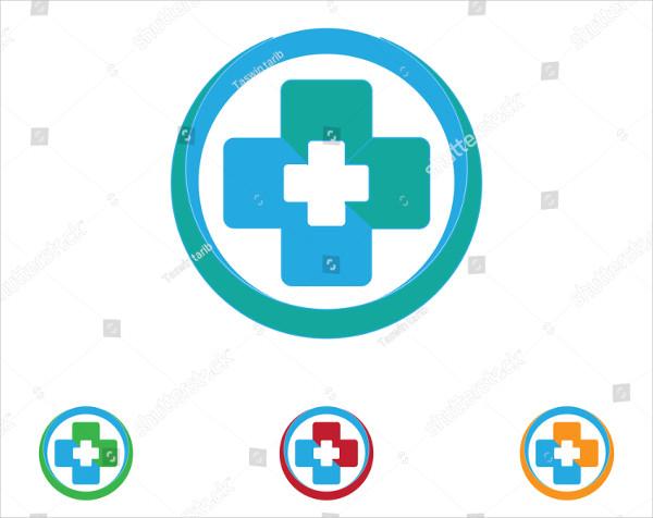 Hospital Life Care Logo Templates