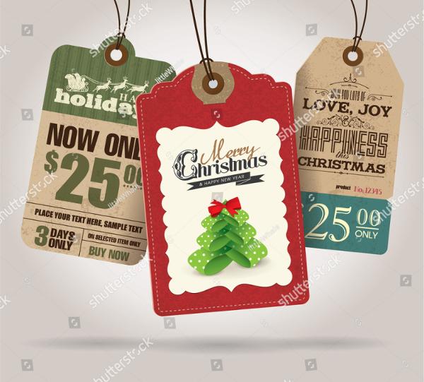 Gift Sale Tag Template