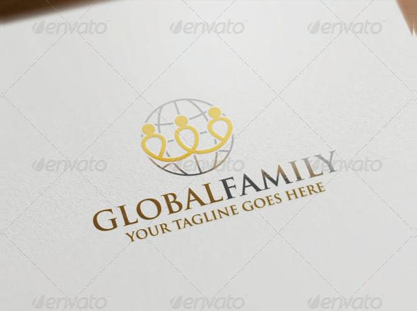 Global Family Logo