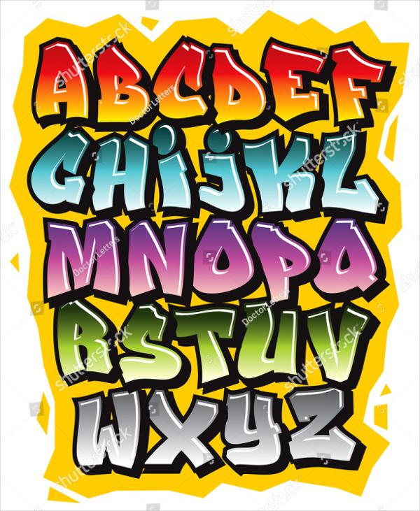 Graffiti Comic Doodle Style Font