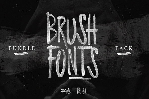 Graffiti Fonts Bundle
