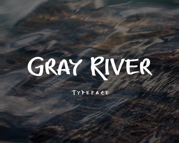 Graffiti River Font