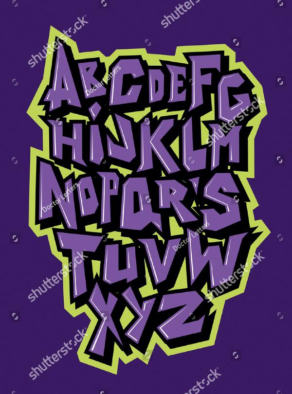 Graffiti Vintage Style Font